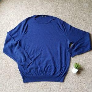 J. Crew Cotton Cashmere Sweater
